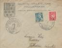 Letter FI000032 - France 1944 Section Philatelique Thouarsaise - Francia