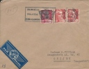 Letter FI000038 - France To Yugoslavia Croatia 1946 - Frankrijk