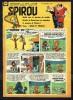 "SPIROU N° 1182 -  Année 1960 -  Couverture "" SPIROU "" De FRANQUIN Et JIDEHEM. - Spirou Magazine"