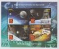 Tchad.2007.Jules Verne./Space Sheet.4v.MNH.21983 - Schriftsteller
