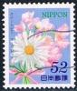Japon - Pois De Senteur 6516 Et Abricotier 6495 (année 2014) Oblit. - 1989-... Empereur Akihito (Ere Heisei)