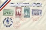 Letter FI000058 - Yugoslavia Slovenia 1941 Zveza Bojevnikov Ljubljana - Yugoslavia