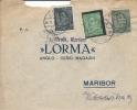 Letter FI000059 - Yugoslavia Slovenia Lorma Magazin - Ohne Zuordnung