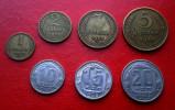 1953 Russia 1;2;3;5;10;15;20 KOPEK / Kopeek Coin USSR STALIN TIME FULL YEAR SET - Russie