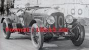 Reproduction D'une Photographie D'une Bentley Numéro 10 De 1929 - Reproductions