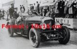 Reproduction D'une Photographie D'une Bentley Numéro 4 De 1930 - Reproductions