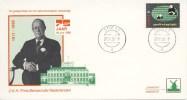 Philato Envelop: Prins Bern(h)ard, 75 Jaar (1986) - Period 1980-... (Beatrix)