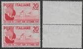 Italia Italy 1949 Fiera Del Levante Bari Coppia Sa N.610 Nuova Integra MNH ** - 1946-60: Nuovi