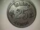 Islande 25 Aurar 1958 - Iceland