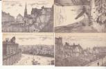 Dep 59 - Lille  Aprés Le Bombardement Des 9 Au 11 Octobres 1914 - 4 Cartes  - Achat Immédiat - Lille