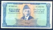 B87- Signature Of Mr. Ghulam Ishaq Khan Pakistan Rs. 50.00 Banknote. (Fine Used) - Pakistan
