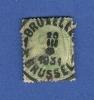 1915 N° 137 OBLITERE ALBERT 1 ER DOS CHARNIERE 2 SCANNE - 1915-1920 Albert I