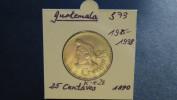 Guatemala - 1990 - 25 Centavos - KM 278.5 - Vz - Guatemala