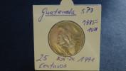 Guatemala - 1991 - 25 Centavos - KM 278.5 - Vz - Guatemala
