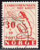 NORWAY - National Cancer Society 1953, NK Nos 414, Mi.nos 379 Used - Norwegen