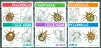 Mozambique 1980 Ticks And Animals MNH** - Lot. 4047 - Mozambique