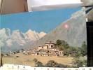 TIBET TENGBOCHE MONASTRY AND THAM SHYARKU RANGE NEPAL V1975 FB6703 - Nepal