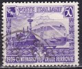 Regno D'Italia, 1939 - 50c Ferrovie Italiane - Nr.450 Usato° - Usati