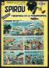 "SPIROU N° 1172 -  Année 1960 -  Couverture "" SPIROU "" De FRANQUIN Et JIDEHEM. - Spirou Magazine"