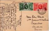 GRANDE BRETAGNE - CARTE POSTALE DU 11-5-1935 - CARTE POSTALE POUR LA FRANCE. - 1902-1951 (Kings)