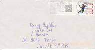 France Cover Sent To Denmark Nyon 27-2-2002 Single Franked Handball Stamp - France