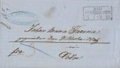Brief R2 Bad Oeynhausen 7.1. Gel. Nach Köln - Deutschland