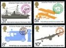 GB 1974 U.P.U SET OF 4 SG 954-7 MI 650-53 SC 720-23 IV 725-28 - 1952-.... (Elizabeth II)
