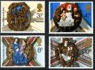GB 1974 TREE-CHRISTMAS SET OF 4 SG 966-69 MI 663-66 SC 715-735 IV 720-745 - 1952-.... (Elizabeth II)