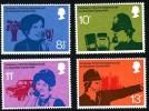 GB 1976 TELEPHONES SET OF 4 SG 997-1000 MI 702-05 SC 777-80 IV 786-89 - 1952-.... (Elizabeth II)