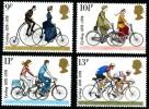 GB 1978 CYCLING SET OF 4 SG 1067-70 MI 773-76 SC 843-46 IV 872-75 - 1952-.... (Elizabeth II)