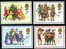GB 1978 CHRISTMAS SET OF 4 SG 1071-1074 MI 777-80 SC 847-850 IV 876-879 - 1952-.... (Elizabeth II)