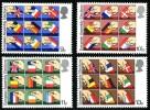 GB 1979 EUROPEAN ASSEMBLY SET OF 4 SG 1083-86 MI 789-92 SC 859-62 IV 888-891 - 1952-.... (Elizabeth II)