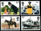 GB 1979 POLICE SET OF 4 SG 1100-03 MI 808-11 SC 875-78 IV 913-16 - 1952-.... (Elizabeth II)