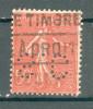 Collection FRANCE ; 1924-32 ; Type Semeuse Lignée ; Y&T N° 199 (IIA); Lot :  ; Oblitéré - 1903-60 Semeuse Lignée