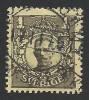 Sweden, 1 K. 1911, Scott # 72, Used. - Suède