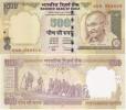 India - 500 Rupees 2011 UNC Lemberg-Zp - India