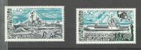 T.A.A.F N°74, 75 Neuf** Cote 4.40 Euros - Unused Stamps