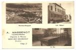 Saone Et Loire, Mercurey Bourgneuf, Cafe A Massenot    (bon Etat) - Altri Comuni
