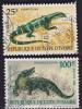 Côte D'Ivoire: Varan Du Nil 833, Crocodile Du Nil 834 - Ivoorkust (1960-...)