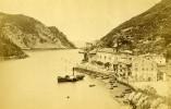 Espagne Pasages Entrée Du Port Ancienne Photo Carte Cabinet LL 1880 - Photographs