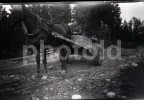 ORIGINAL AMATEUR NEGATIVE II WW GERMANY WORLD WAR GUERRE SUOMI FINLAND SOLDIERS NOT PHOTO NO FOTO - Photography
