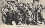 Beyrouth Beirut Lebanon, Les Portefaix Porters Busy Street Scene, C1910s Vintage Postcard - Lebanon