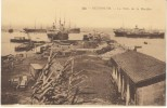 Beyrouth Beirut Lebanon, Mole De La Decidee Harbor Scene, C1920s Vintage Postcard - Lebanon