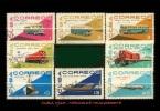 CUBA/KUBA 1965  MEDIOS DE TRANSPORTES CTO CANCELLED NH - Cuba