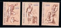 1976 - VATICANO - S01 - SET OF 3 STAMPS ** - Unused Stamps