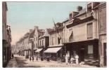 Ouistreham - L'hôtel Des Voyageurs Et La Grande-Rue - Colorisée - édit ND Neurdein 356 + Verso - Ouistreham