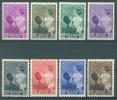 BELGIQUE - 1937 - MNH/*** LUXE  ASTRID BOUDEWIJN BAUDOIN  - COB 447-454 Lot 12671 - Nuevos