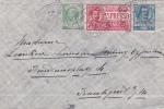 Italy 1908 Busta Espresso Per La Germania - 1900-44 Vittorio Emanuele III
