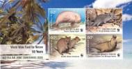 Cocos Islands 2011 World Wildlife Fund Joint Territories Minisheet MNH - Cocos (Keeling) Islands