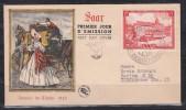 Saarland MiNo. 349 Ersttagsbrief (20.-)
